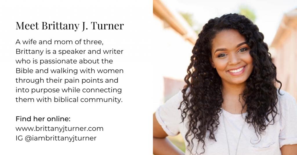 Meet Brittany J. Turner