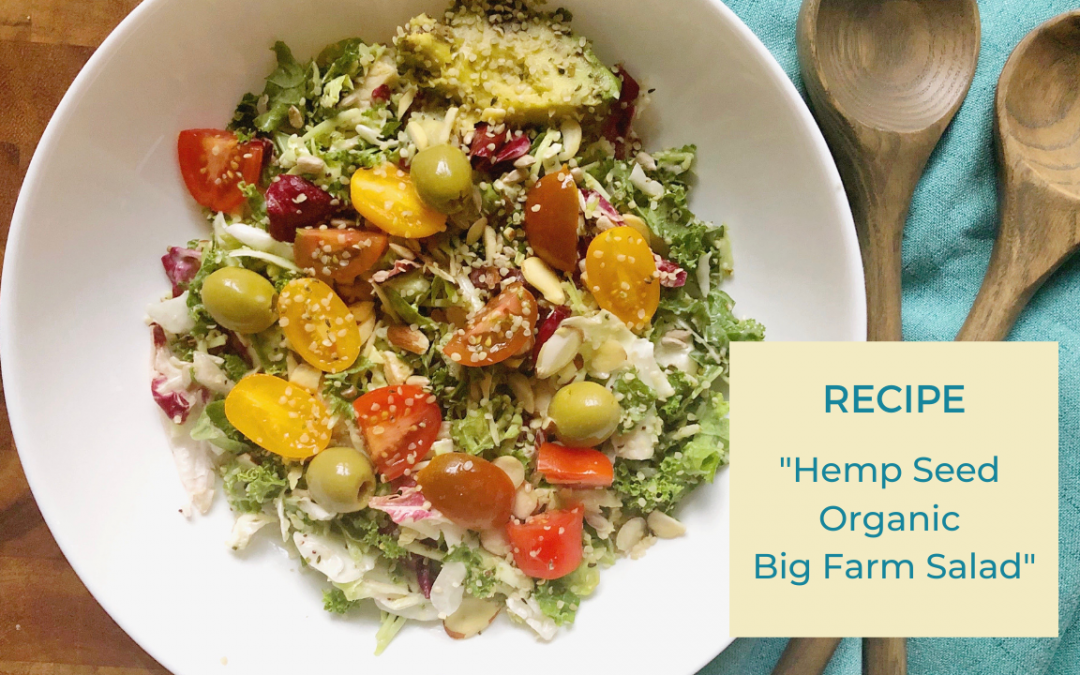 Hemp Seed Organic Big Farm Salad