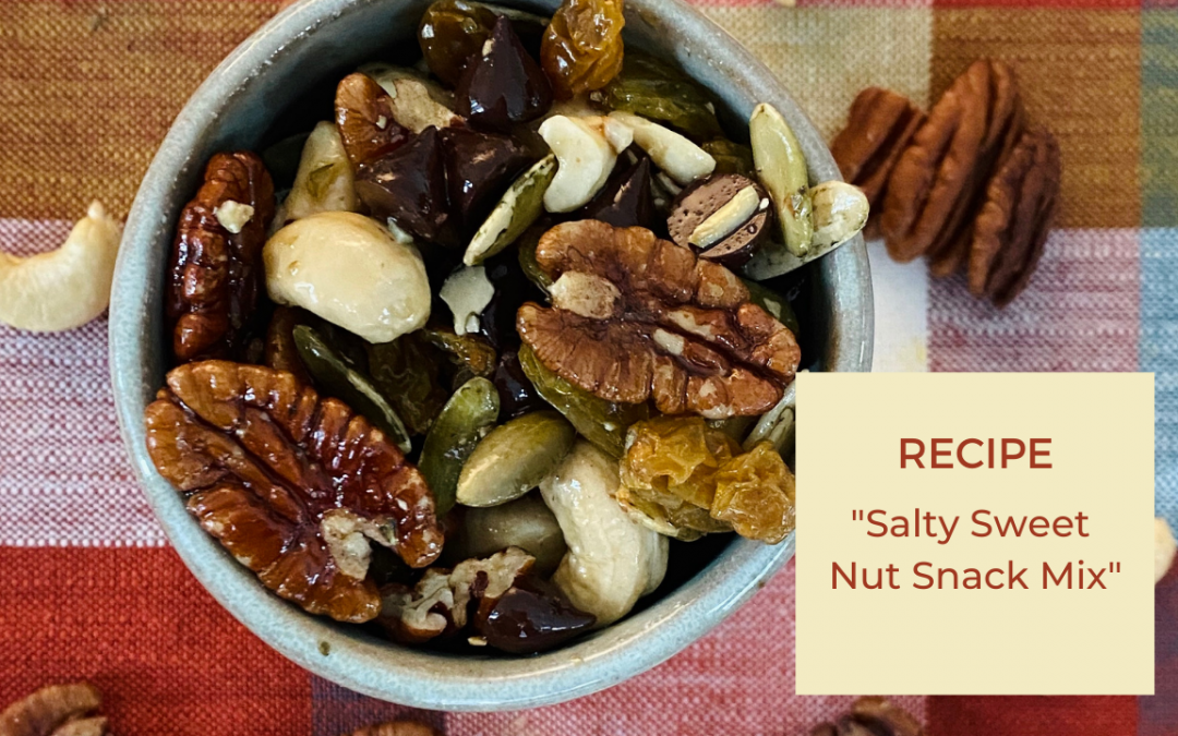 Salty Sweet Nut Snack Mix