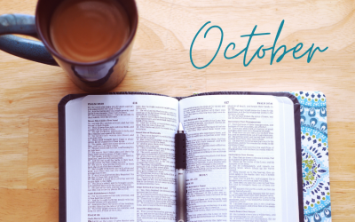 October Scripture Writing Plan – Forgiveness